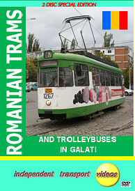 Romanian Trams 1 - and Trolleybuses in Galati - Format DVD