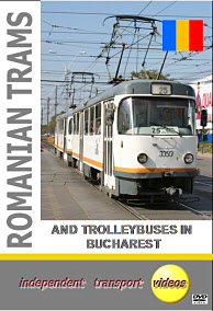 Romanian Trams 3 - and Trolleybuses in Bucharest - Format DVD