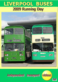 Liverpool Buses - Running Day 2009 -  Format DVD