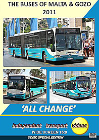 The Buses of Malta & Gozo 2011 - All Change  -  Format DVD