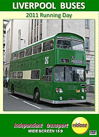 Liverpool Buses - 2011 Running Day  -  Format DVD