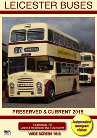 Leicester Buses - Preserved and Current 2015