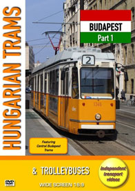 Hungarian Trams & Trolleybuses - Budapest Part 1