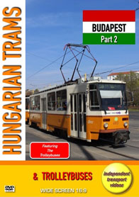 Hungarian Trams & Trolleybuses - Budapest Part 2