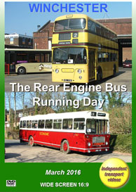 Winchester - Rear Engine Bus Running Day 2016