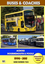 Buses & Coaches Across Bournemouth & Poole 1990-2015
